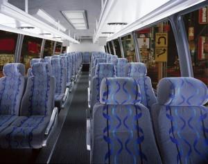 Mini Bus Interior Wedding Shutttle