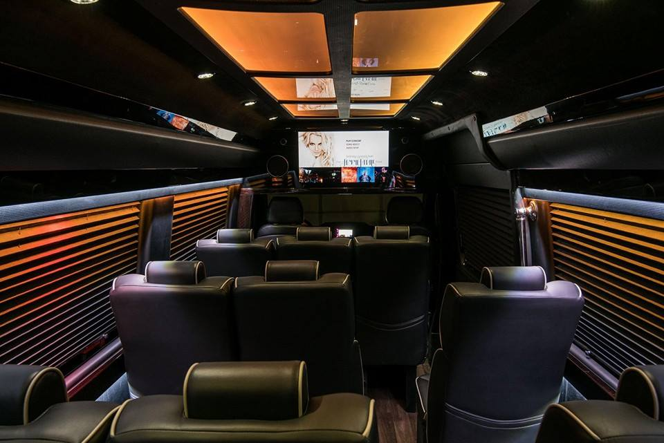 New Executive Sprinter Interior a