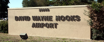 david wayne hooks airport
